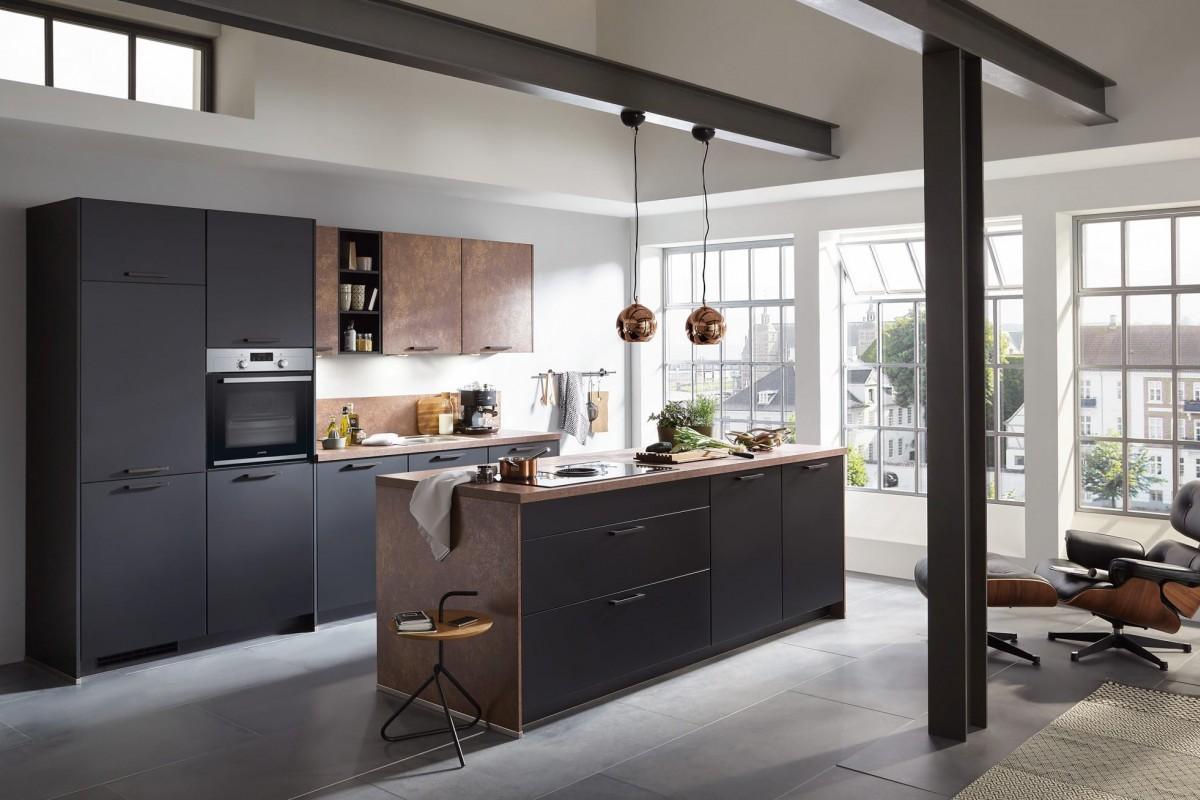 designküche mit kochinsel - multi-möbel